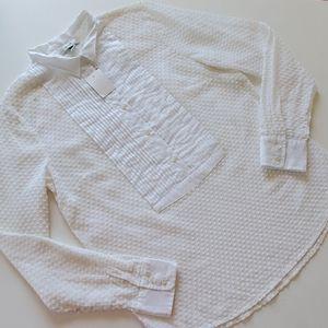 J. Crew popover blouse size 4